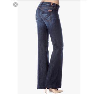 7 For All Making DOJO Flare Jeans